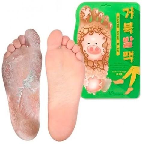 Отшелушивающие пилинг-носочки Elizavecca для очищения и смягчения кожи стоп 40 гр
