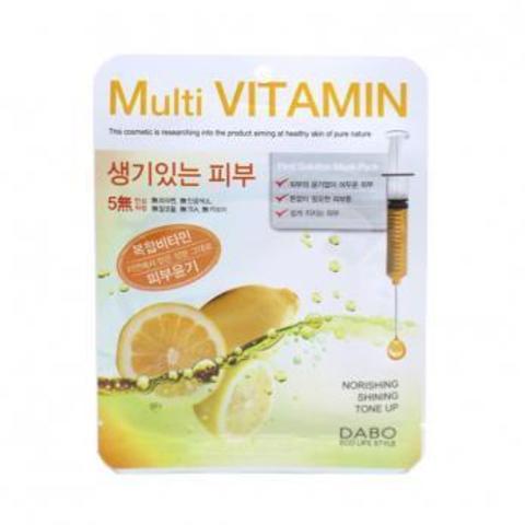 DABO Тканевая маска multi vitamin 10шт