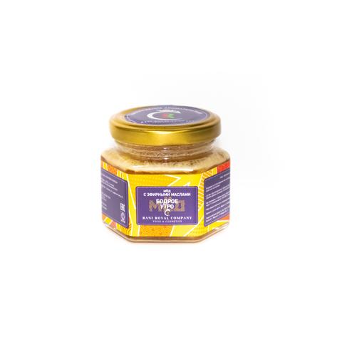 Мёд с эфирными маслами «Бодрое утро» 120 г