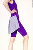 Шорты Тянутся до колен с юбкой colour | фиолетовый