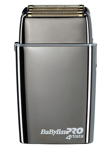Шейвер BaByliss Pro Foil Gunsteel,  аккум/сетевой, серебристый