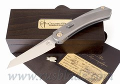 URS knife by CultroTech Knives #67 matt polished blade