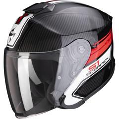 Мотошлем Scorpion EXO-S1 Cross-Ville, чёрный/белый/красный
