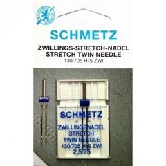 Фото: Игла Twin stretch 130/705 H-S ZWI SMS №1x2.5/75