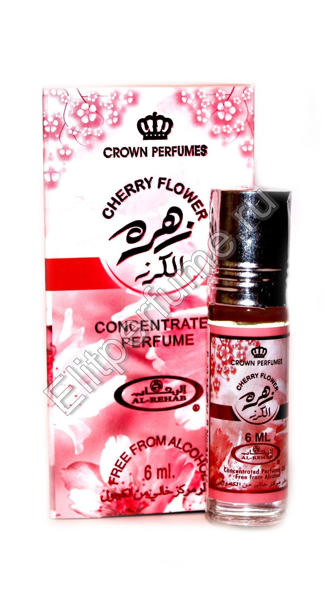 Cherry Flower Цветок Вишни 6 мл арабские масляные духи от Аль Рехаб Al Rehab