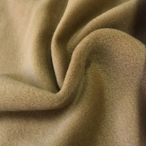 Ткань пальтовая альпака кэмел цвет 3285