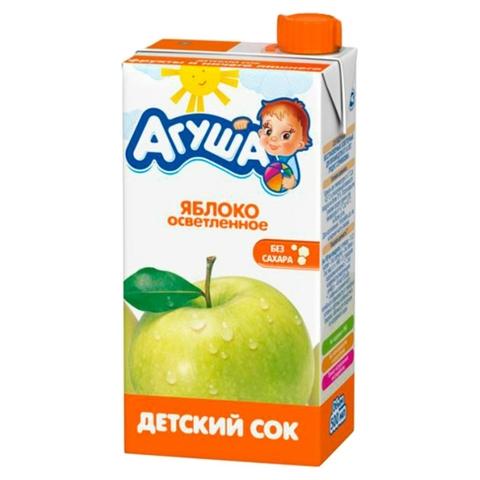 Сок АГУША Яблоко 0,5 л РОССИЯ