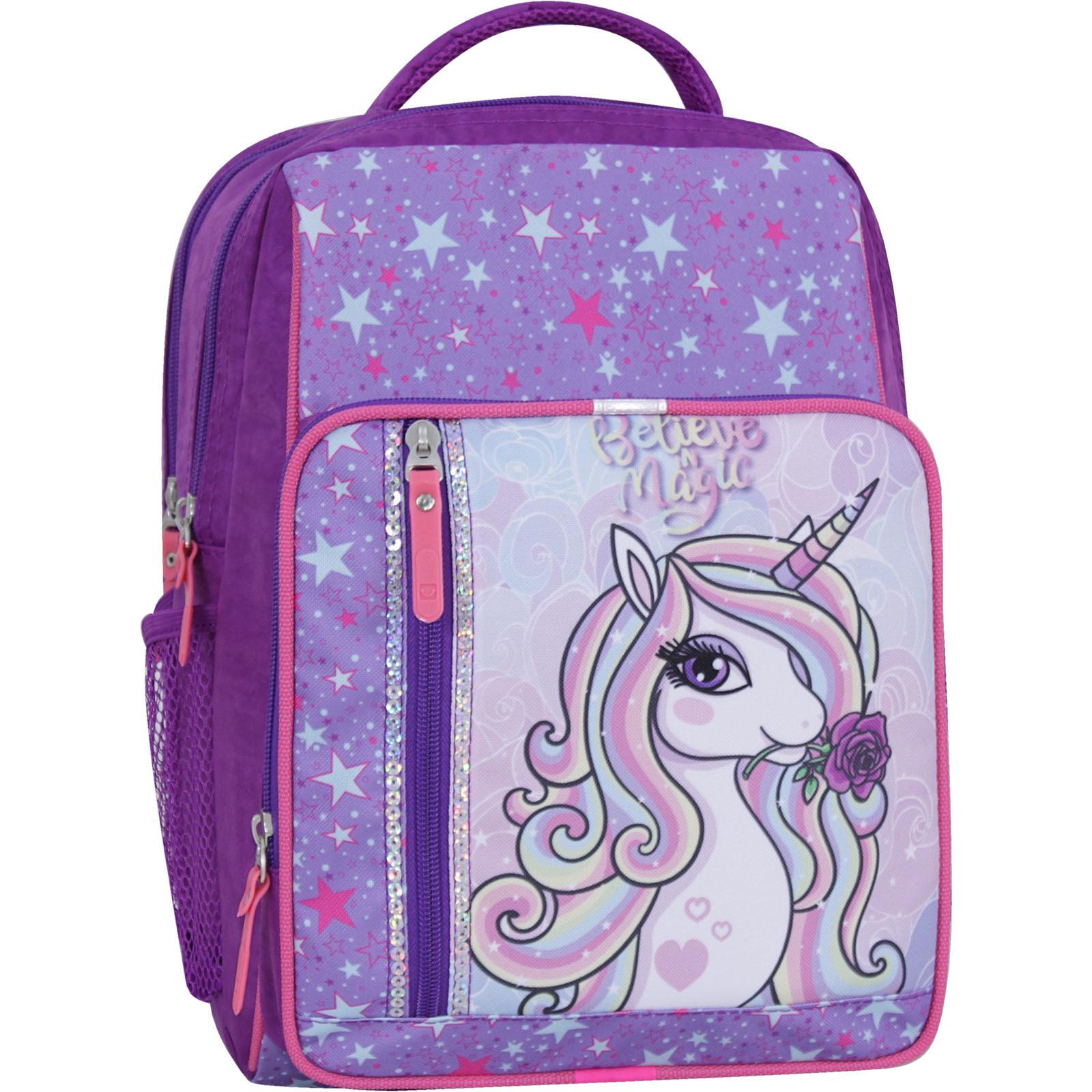 Школьные рюкзаки Рюкзак школьный Bagland Школьник 8 л. фиолетовый 678 (0012870) IMG_2630_суб_678_-1600.jpg