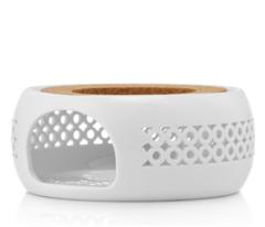 """Подставка-нагреватель """"Prometheus"""" для подогрева чайника свечой керамическая CH06W белая"""