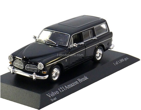 Volvo 121 Amazon Break 1966 black Minichamps 1:43