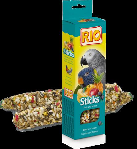 RIO - Палочки для попугаев с фруктами и ягодами