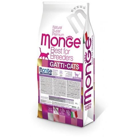 Monge Cat Sterilised 10 кг