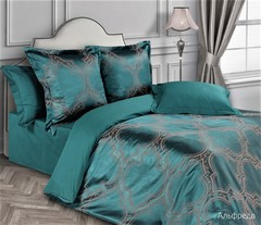 Жаккардовое постельное бельё 1,5 спальное, Альфредо