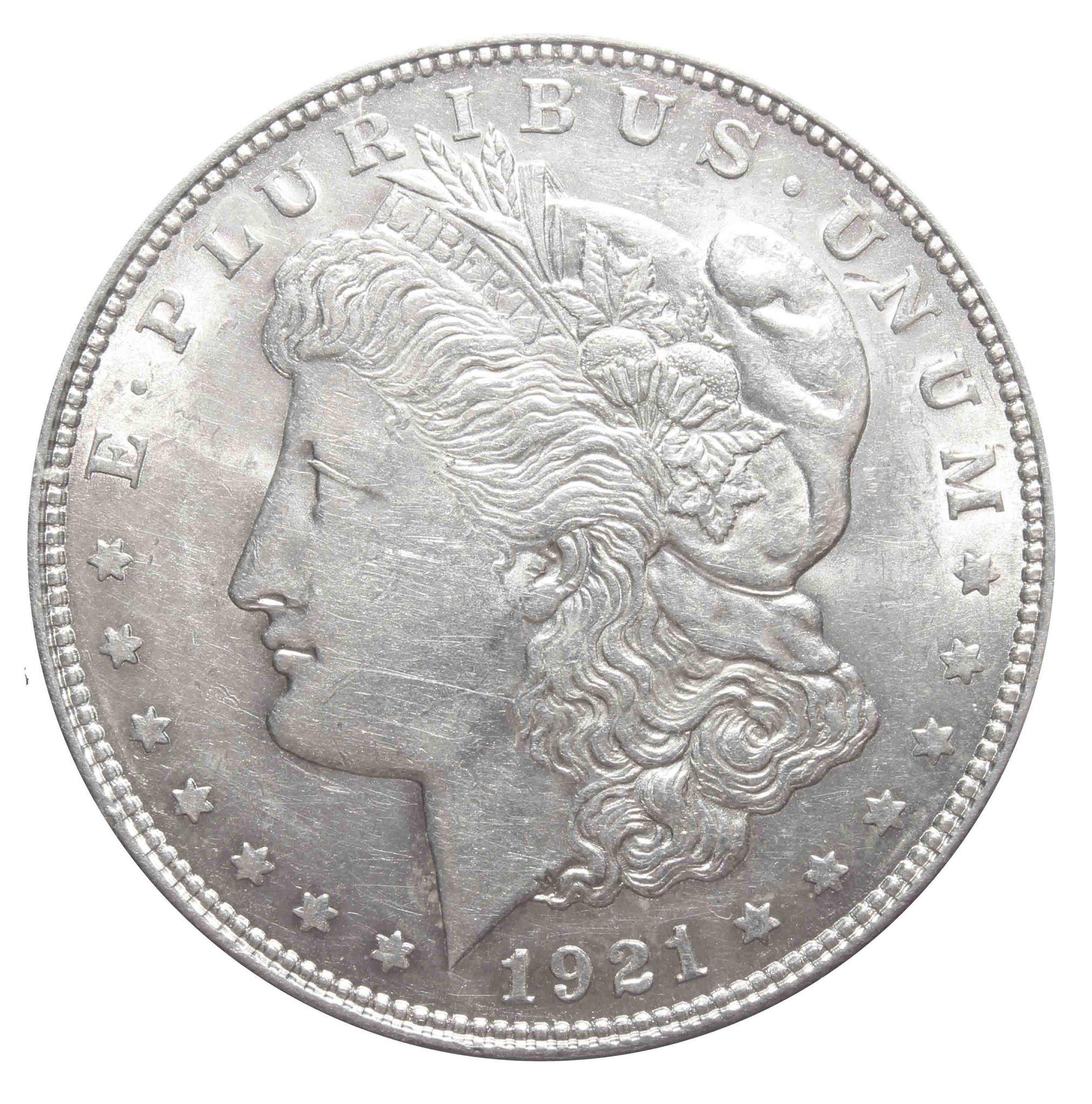1 доллар 1921. США (Морган). AU