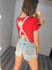 комбинезон на лето джинсовый недорого