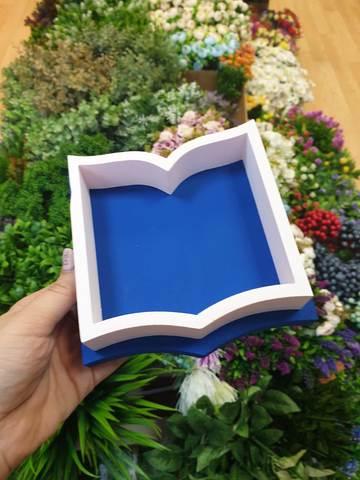 Пенобокс Книга синяя 15х10см