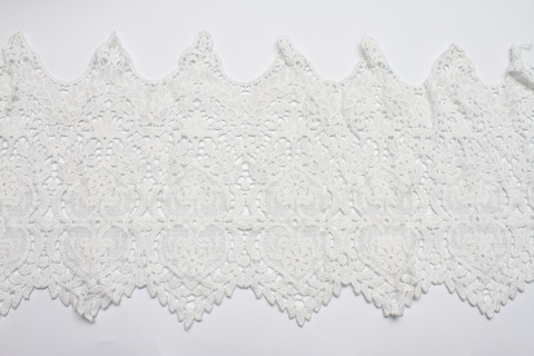 Кружево белое,30 см