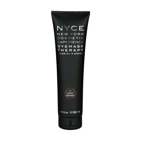 Маска тонирующая Dye Mask Therapy 0 Dark Brown — 150 мл