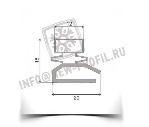 Уплотнитель для холодильника Саратов-2 КХШ-85  Размер 600*490 мм (013)