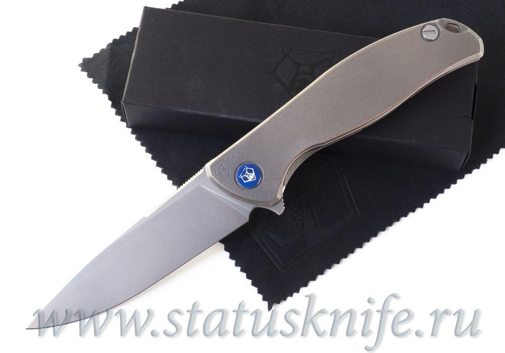 Нож Широгоров Флиппер 95 SLIM Nudist M390