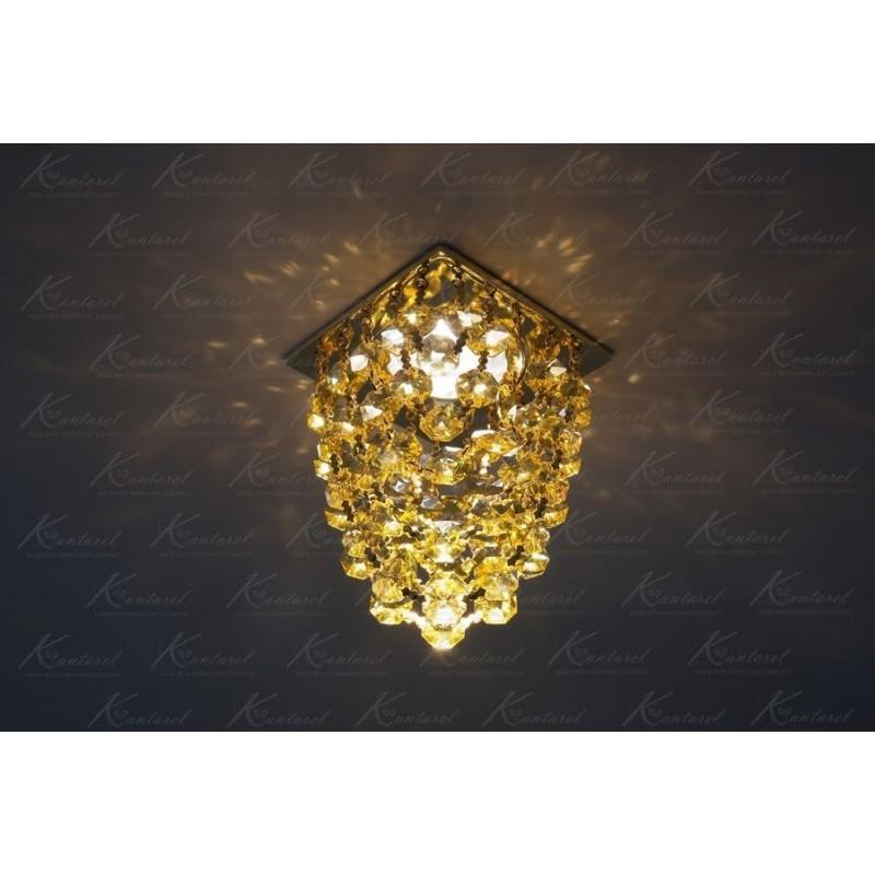 Встраиваемый светильник Kantarel Grape CD 020.3.10 lt topaz