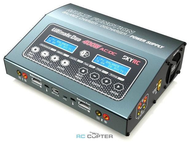 Зарядное устройство SkyRC D400 400Вт 20А 1-7S