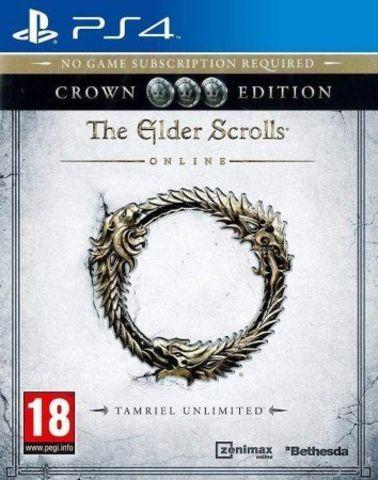 The Elder Scrolls Online: Tamriel Unlimited - Crown Edition (PS4, английская версия)