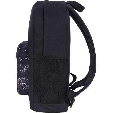 Рюкзак Bagland Молодежный W/R 17 л. черный 985 (00533662)