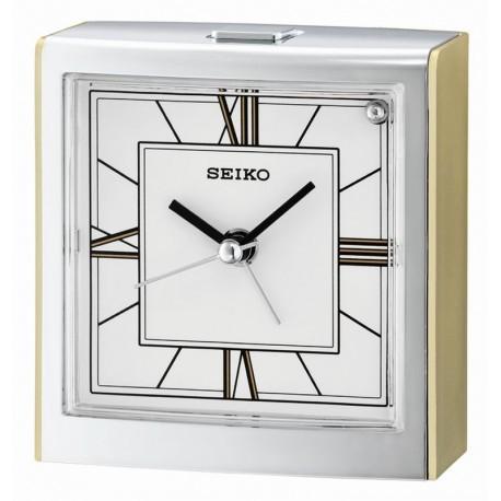 Настольные часы-будильник Seiko QHE123GN
