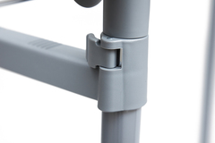 Вешалка NY-3295 — хром/серый