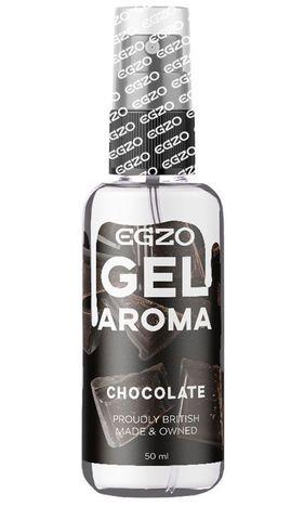 Интимный лубрикант EGZO AROMA с ароматом шоколада - 50 мл.