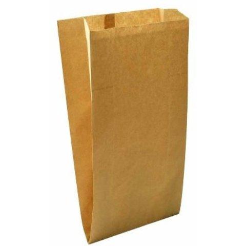 Пакет бумажный 100х60х300 мм с плоским дном крафт40
