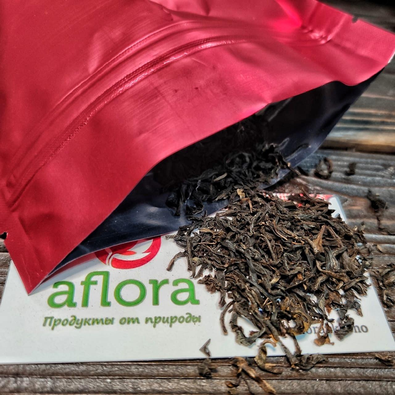 Фотография Чай черный Индийский (крупнолистовой) Ассам / 100 гр купить в магазине Афлора