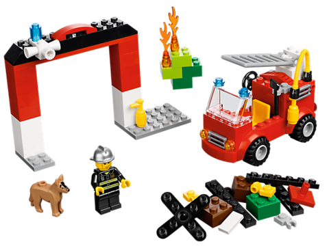 LEGO Creator: Тушение пожара 10661 — My First Fire Station — Лего Креатор Создатель