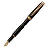 Pierre Cardin Luxor - Black GT, перьевая ручка, М