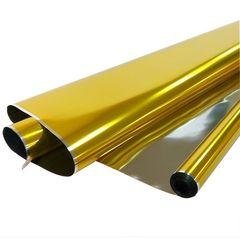Пленка Металл Золото / рулон 70 см*7,5 м 40 мкм