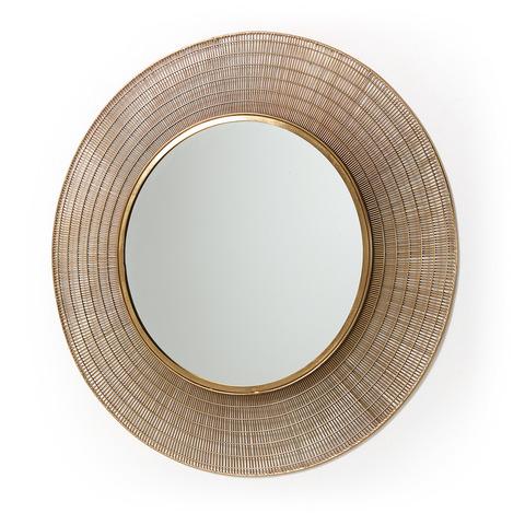 Зеркало Plax в латунной раме