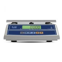 Весы фасовочные (порционные) настольные Mertech M-ER 326AFL-6.1 Cube, LCD, АКБ, 6кг, 1гр, увеличенная платформа 280х235, с поверкой