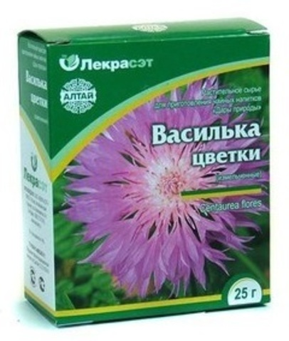 Василёк цветки 25 г.