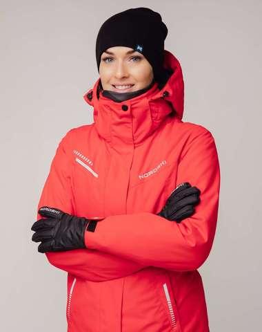 Горнолыжная куртка Nordski Extreme red W женская