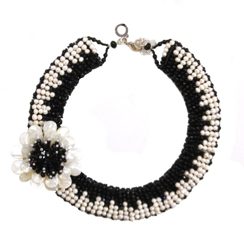 Ожерелье цветок OTTAVIANI