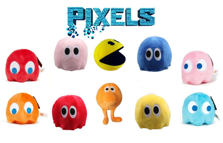 Пиксели мягкая игрушка