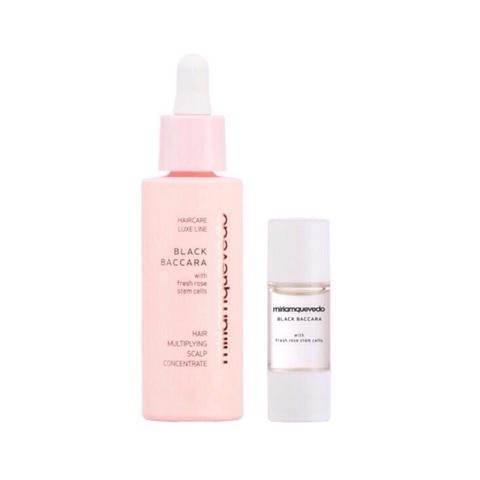 MIRIAM QUEVEDO   Подготовительный набор для кожи головы / Black Baccara Hair Multiplying Scalp Concentrate + Pre-Treatment Exfoliator, (30 мл+10мл)