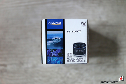 Объектив Olympus M.Zuiko Digital 9-18mm f/4-5.6 ED Black для Olympus