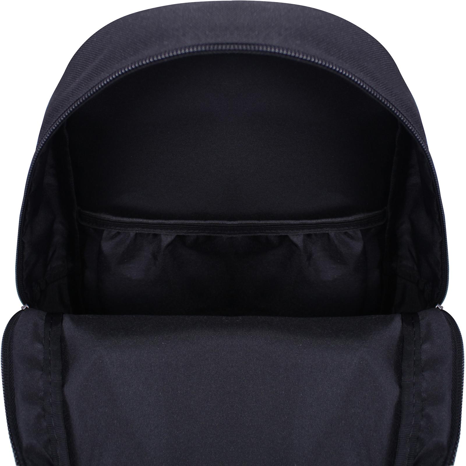 Рюкзак Bagland Молодежный mini 8 л. черный 763 (0050866) фото 4