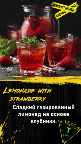 Табак Original Virginia T-LINE Lemonade with strawberry 100г