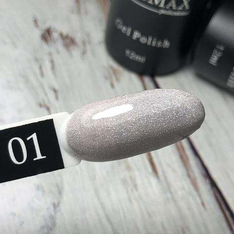 Гель лак без аромата клубники Shine collection №1, 12 мл