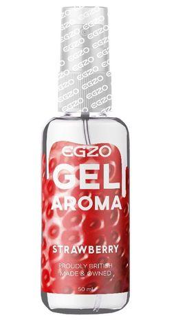 Интимный лубрикант EGZO AROMA с ароматом клубники - 50 мл.
