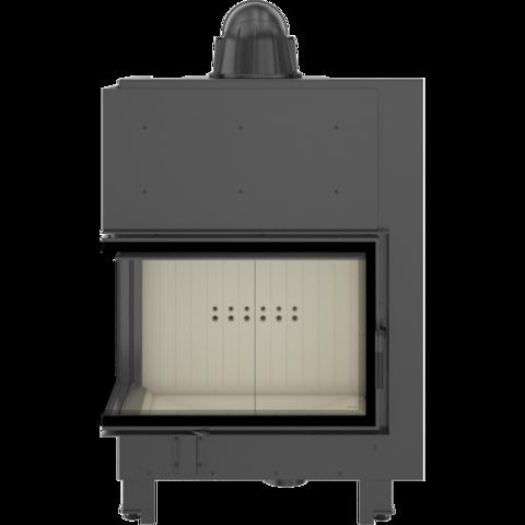 Каминная топка Kratki MBA/L/BS/SG (гнутое стекло) (17 кВт)