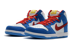 Nike Dunk High Retro 'Blue/White/Red'